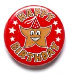 Happy Birthday School Badge
